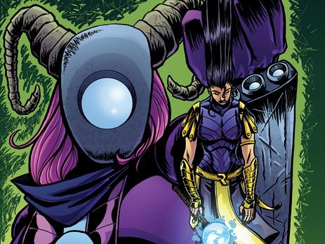 SCOUT COMICS and BLACK CARAVAN Creators Contributed to AR Comics