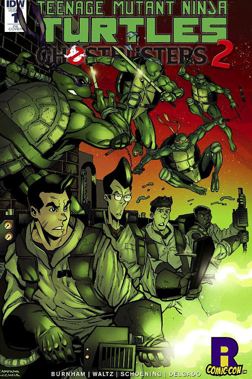 EXCLUSIVE TMNT/GHOSTBUSTERS