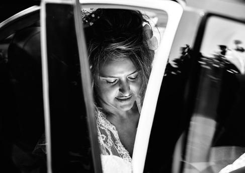 Voiture de la mariée