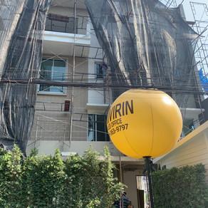 โครงการสิริวิรินทร์ ทาวน์โฮม จรัญสนิทวงศ์ 95/1 - ผลงานติดตั้งประตูอลูมิเนียม หน้าต่างอลูมิเนียม