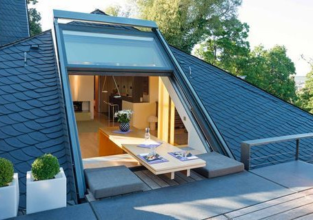 เพิ่มความเก๋ให้บ้านด้วยหน้าต่างแบบ Roof Window