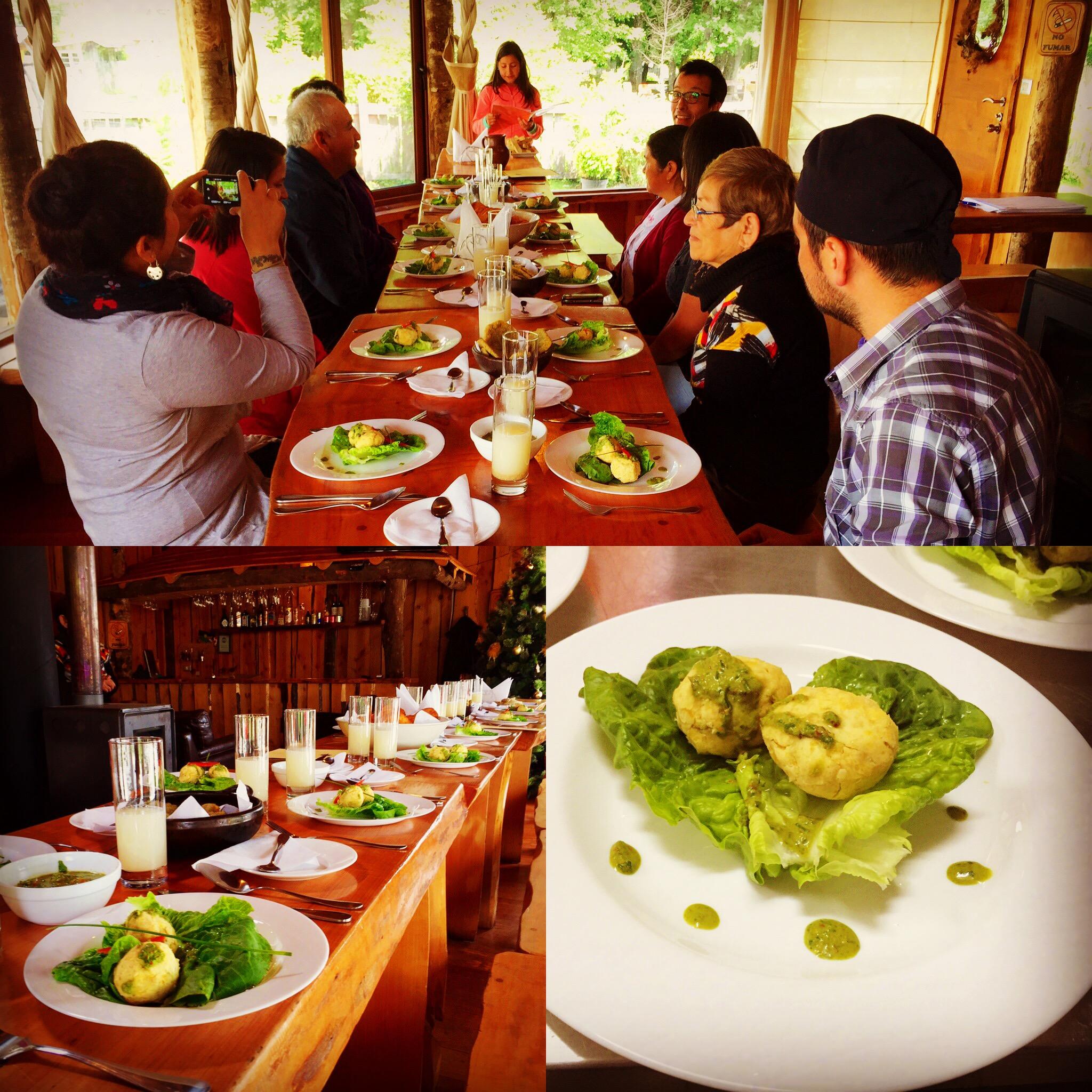 Curso comida Mapuche