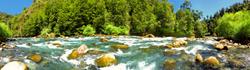 Río Fuy, Neltume, Huilo Huilo