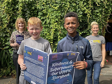 Children in care launch new story book all about spreading kindness