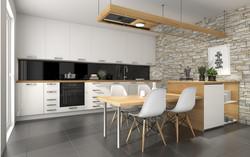 Beispiel: offene Küche