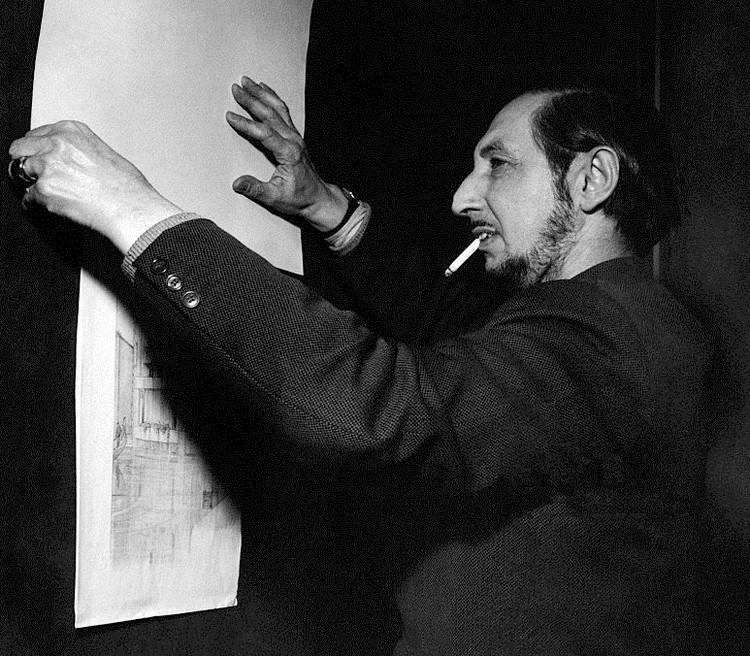 Carlo Scarpa in 1954