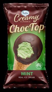Bulla Creamy Classics Choc Top Mint