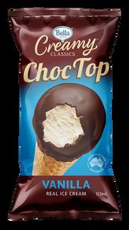 Bulla Creamy Classics Choc Top Vanilla
