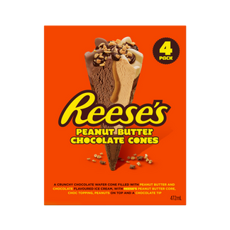 Reese's Peanut Butter Chocolate Cone 4Pk
