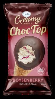 Bulla Creamy Classics Choc Top Boysenberry