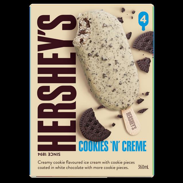 Hershey's Cookies 'N' Creme Sticks 4Pk