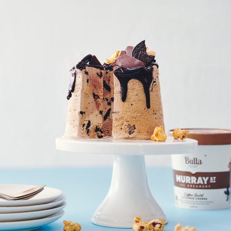 Chocolate Drip Ice Cream Cake