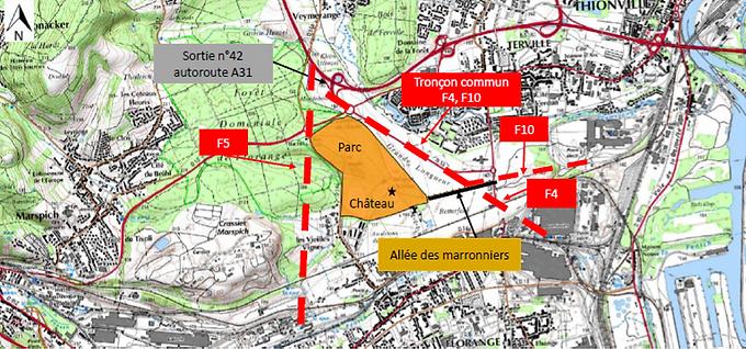 tracés A31 bis mai 2021.png