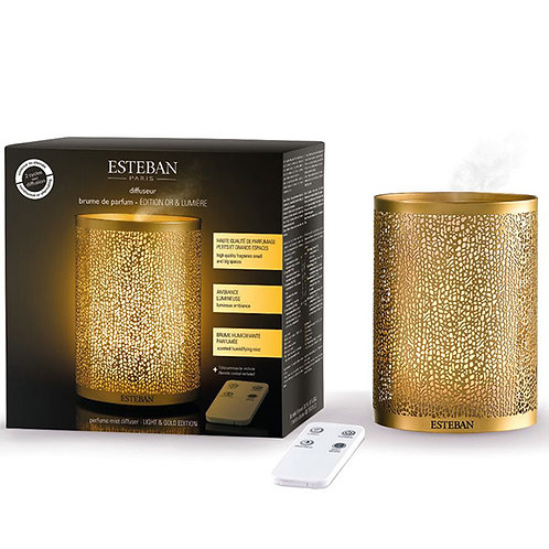 Esteban Mist Diffuser Gold & Light Edition