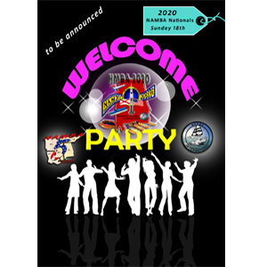 NAMBA WELCOME PARTY TICKET SUNDAY 18TH