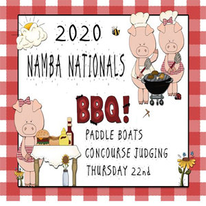 BBQ, PADDLE BOAT, CONCOURSE TICKET THURSDAY 22ND