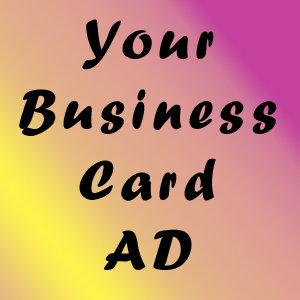 PROGRAM AD BUSINESS CARD