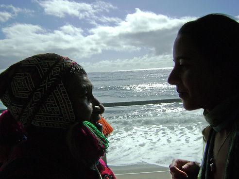 healing shaman shamanism Q'ero Peru elder energy balance wellness Deborah medicine woman