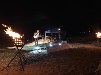 「鳴り砂海岸夕暮れコンサートin琴ヶ浜」ありがとうございました。