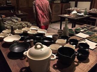 「石黒いずみ作陶展」開催中