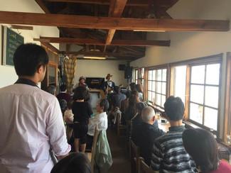 琴ヶ浜の『チーナカ豆』、カフェの通常営業はお休みに入りました。