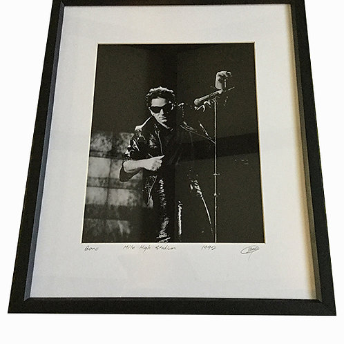 Bono Concert Framed Photo