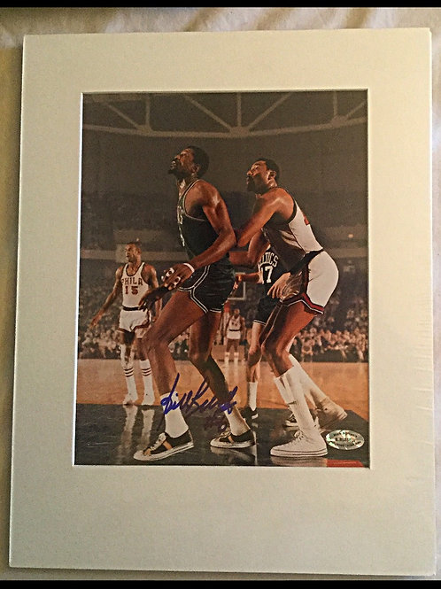Bill and Wilt signed by Russel