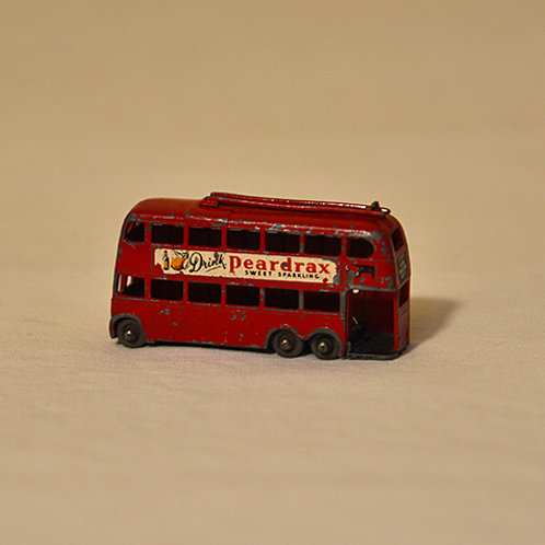 Vintage Matchbox trolly bus 1958