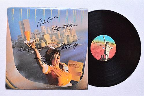 Supertramp Signed Breakfast in America LP