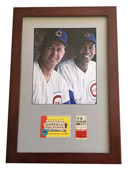 Santo and  Banks framed