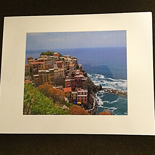 Manarola matted photo