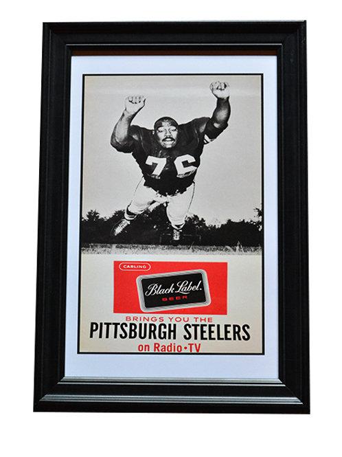 Replica Steelers Framed Poster