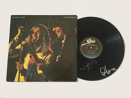 Autographed Cheap Trick Record