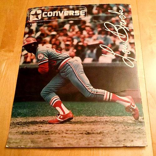 Lou Brock Converse Counter Display