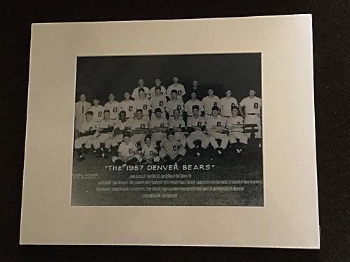 1957 Denver Bears photo