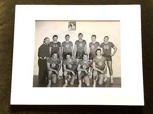 1957 Chesterfield Boys Basketball Team Photo