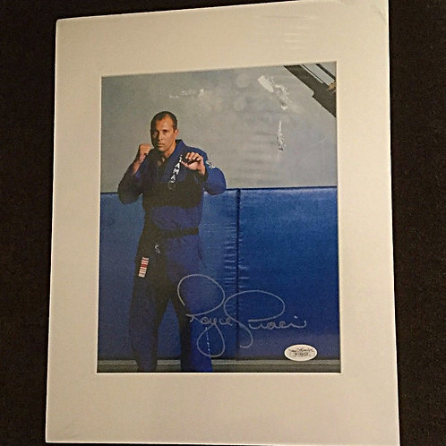 Royce Gracie signed 8x10
