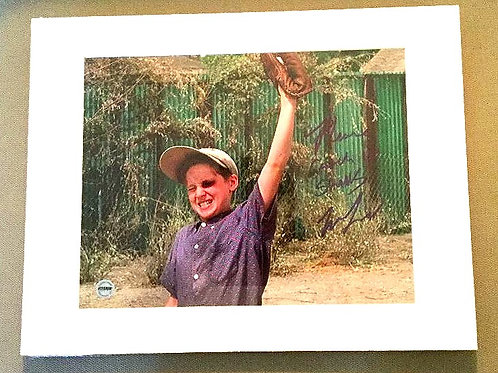 Matted and Autographed Smalls Photo