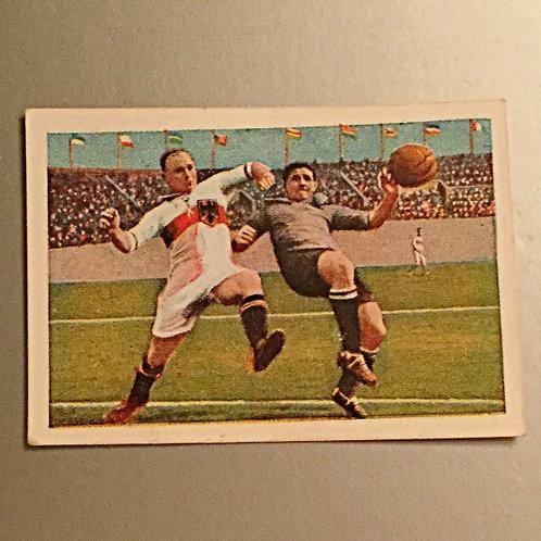 1928 German Football Card
