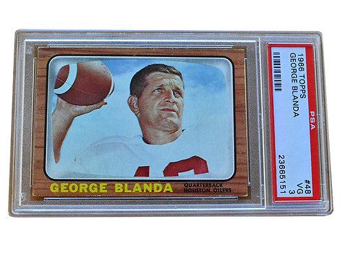 1966 Topps George Blanda