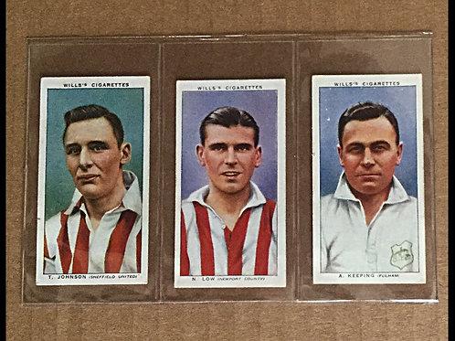 1939 Wills Footballers