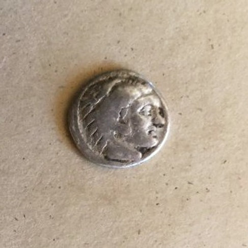Ancient Alexander the Great Silver Coin