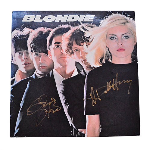 Blondie Autographed First LP 1976