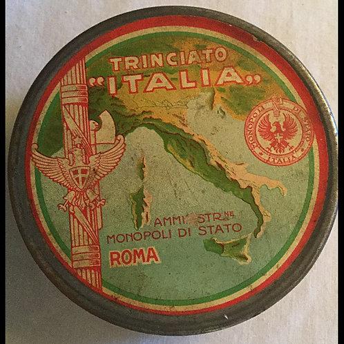 World War I Era Italian tobacco tin