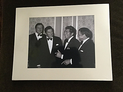 Legends Matted Photo