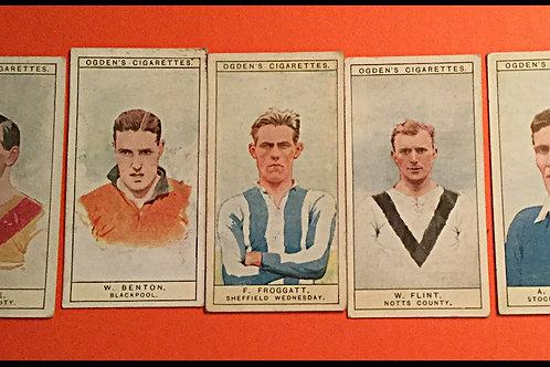 1926 Ogdens Football captains