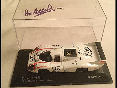 Vic Elford signed 917 Porsche