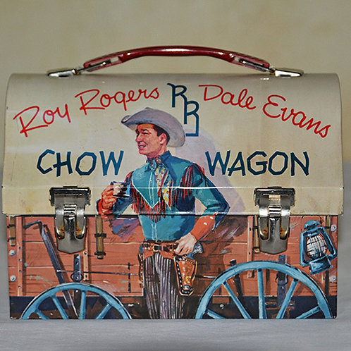 Roy Rogers and Dale Evans Lunchbox cira 1955