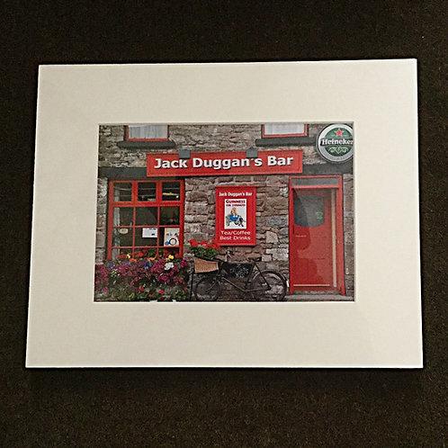 Jack Duggan's Bar Matted Photo