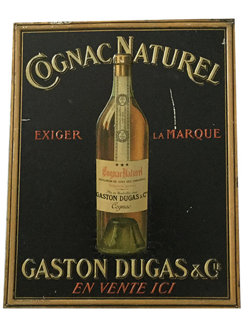 20's 30's Vintage French Cognac Sign